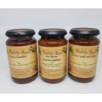 Etyeki lekvár többféle ízben (370 ml)